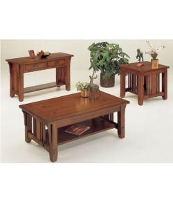 Tora Sheesham Wood Nest of Tables Set Of Three