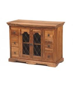 Dayna Solid Sheesham Wood Sideboard