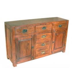 Louis Solid Sheesham Wood Sideboard