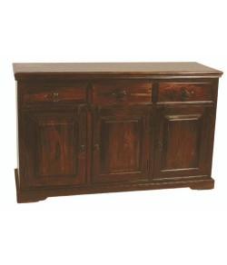 Cambrey Solid Sheesham Wood Sideboard