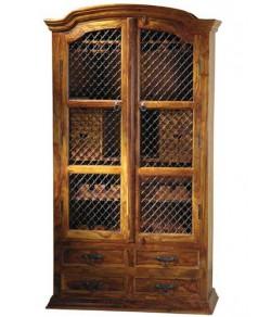 wine Solid Sheesham wood cabinets