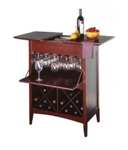 Franco Sheesham Wood bar Cabinet