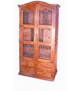 Hagborg Solid Wood Hutch Cabinet