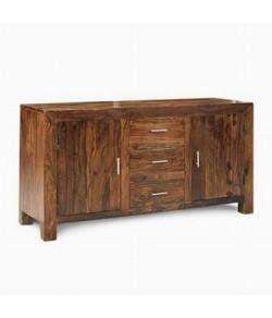 Morse Sheesham Wood Cabinet