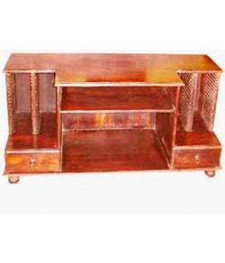 Cornish Solid Sheesham Wood Tv Unit