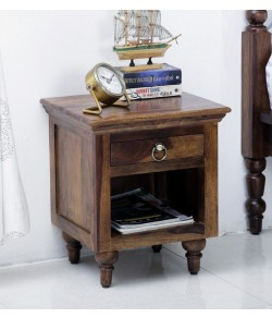 Harley Bed Harleston Solid Wood Night Stand in Provincial Teak Finish