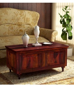 Danny Wood Trunk in Honey Oak Finish