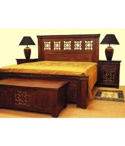 Wakefit Andromeda Sheesham Bed
