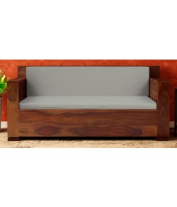 Nicolas 2 Seater Sofa in Provincial Teak Finish