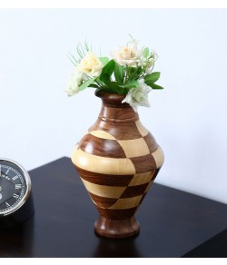 Sheesham Wood Vase