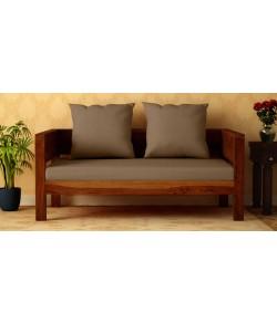 Raiden 2 Seater Sofa in Honey Oak finish