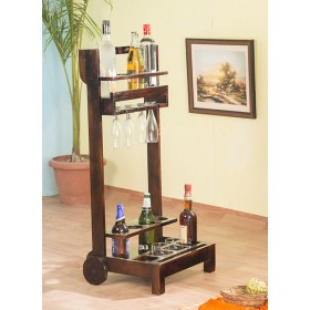 Newstead Compact Wine Trolley