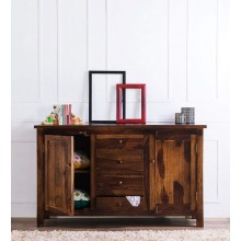 Cambrey Sheesham Wood Sideboard