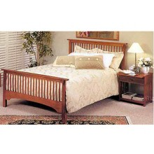 Megan Solid Wood Bed