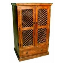 Rustic Solid Wood 2 Door