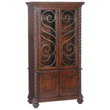 Airavana Solid Wood 2 Door Wardrobe