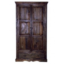 Vayaka Solid Wood 2 Door Wardrobe