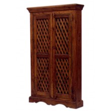 Deux Solid Wood 2 Door Wardrobe