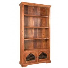 Oriel Solid Sheesham Wood Book Shelf