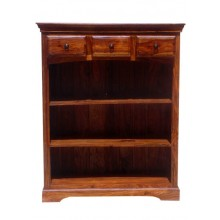 Gower Sheesham Wood Book Shelf