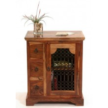Galla Sheesham Wood Kitchen Cabinet