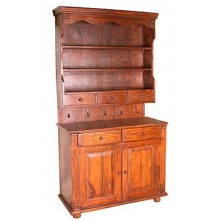 Trestle Sheesham Acacia Wood Cabinet