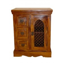 Stigen Sheesham Wood Cabinet