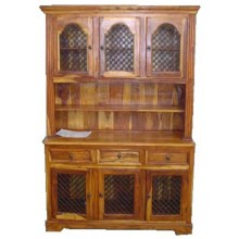 Hurtado Solid Wood Cabinet