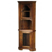 Warrican Sheesham Wood Cabinet Cornor