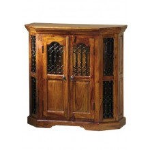 Hurtado Sheeshams Wood Cabinet