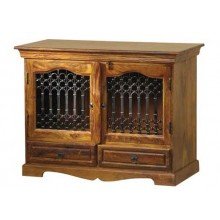 Solari Solid Wood Tv Unit