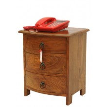 Drawer Bedside Table with Three