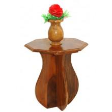 Multicolour Solid Wood Vase