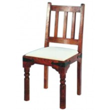 Aura Sheesham Wood Armchair