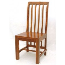 Warm  Solid Wood Armchair