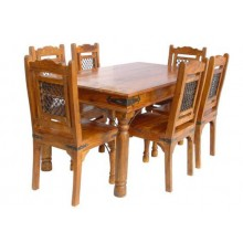 Cambrey Solide Sheesham Wood Dining Table