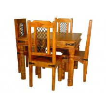 Clovis Solid Sheesham Wood Dining