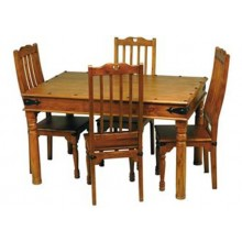 Reveka Sheesham Wood Dining Table