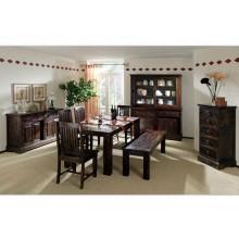 Carocrk Solide Sheesham Wood Dining Table
