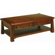 Bradford Coffee Solid Wood Table