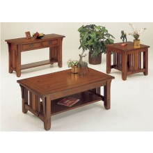 Tora Sheesham Wood Nest of Tables Set Of Three