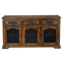 Gulmohar Solid Wood Sideboard