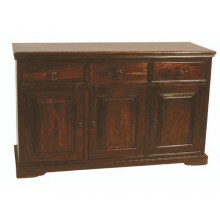 Cambrey Solid Sheesham Wood Sideboard