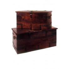 Titan Solid Wood Box Set Of Two