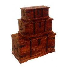 Tuskar Solidwood Storage Box Set of three