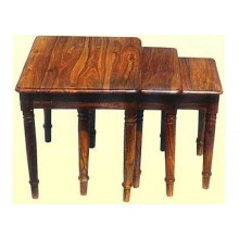 Harleston Solid Wood Nest of Tables