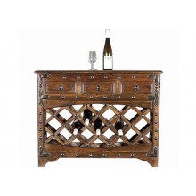 Abbey Solid Wood Wine Rack