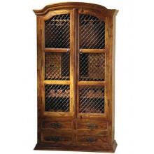 wine Solid Sheesham wood cabinets