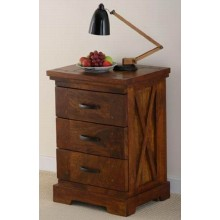 Sheesham Wood Bedside Table