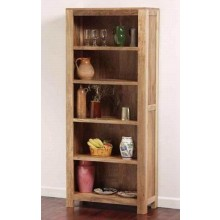 Stigen Solid Sheesham Wood Book Shelf